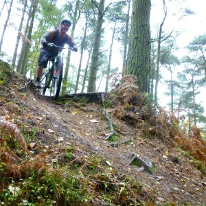 Mountain biking surrey