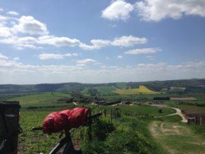 Bikepacking south downs way cycle touring