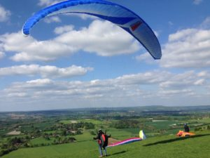 Bikepacing south downs way paragliding cycle touring