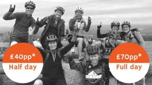 Mountain Biking Surrey Hills guided rides pricing for groups mtb coaching