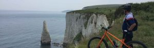 Guided mountain biking rides Isle of Purbeck