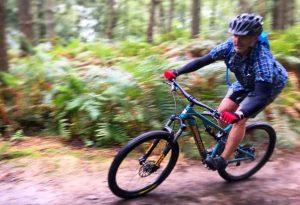 Guided mountain bike rides Surrey Hills