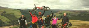 Peak District MTB weekends Mountain Biking Ladybower Hope Valley Edale Jacobs ladder guided rides
