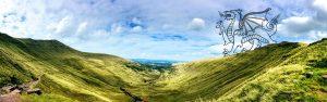 Guided Mountain biking in Wales