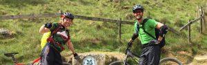 Mountain bike National Trust