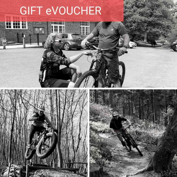Mountain biking skills coaching gift voucher mtb coaching surrey hills south downs wales