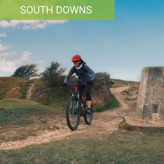 Guided mountain bike rides south downs birling gap