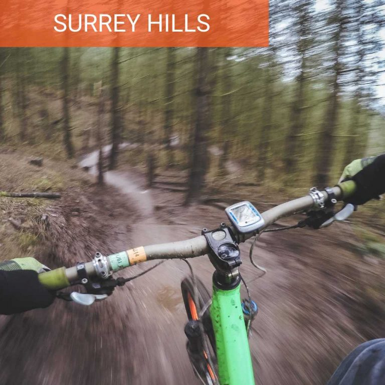 monthly Guided rides on the Surrey Hills mountain biking