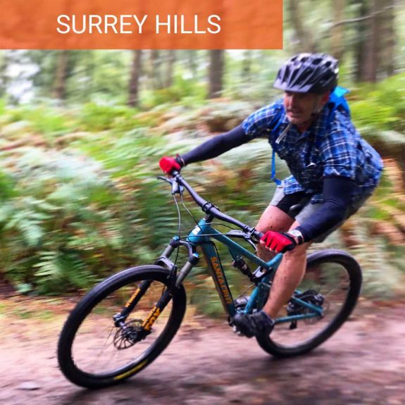 Surrey Hill mountain biking guided rides