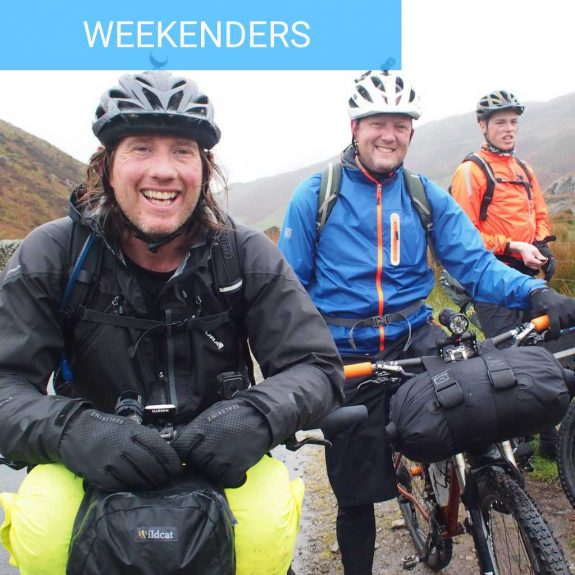 Bikepacking weekend Intro wild camping guided rides south downs bothy biking bivvy biking