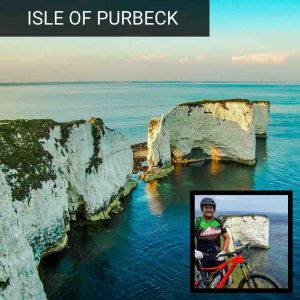 monthly mtb rides Isle of purbeck mountain biking old harry rocks corfe castle