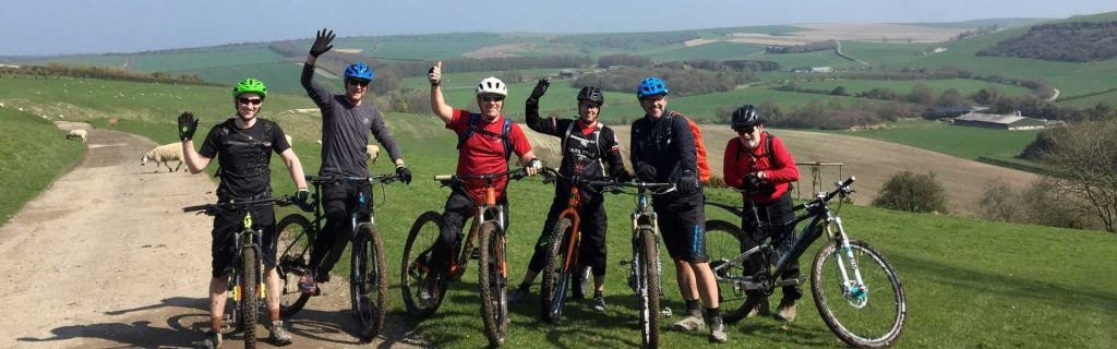 South Downs Mountain Biking Guided Rides and MTB coaching cycling the south downs way