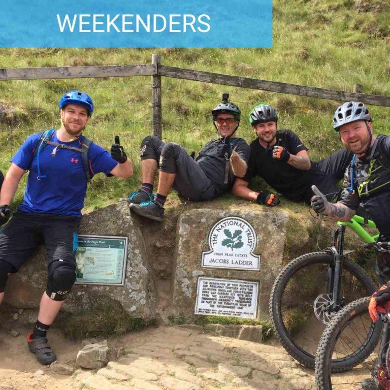 Peak District MTB weekends classic ladybower jacobs ladder descent dark peak mtb