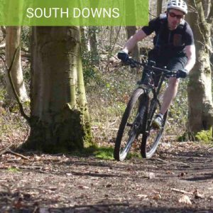 Stanmer Park MTB for beginners guided mtb rides on the south downs brighton