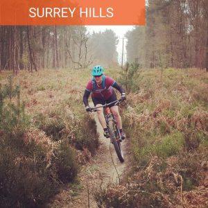 Surrey Hills MTB for Beginners guided mtb rides mountain biking