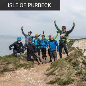 Intro to MTB on the Purbeck Hills guided mtb ride corfe castle old harry rocks