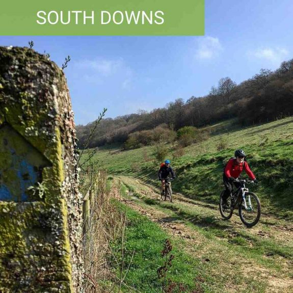 guided south downs rides mountain biking mtb