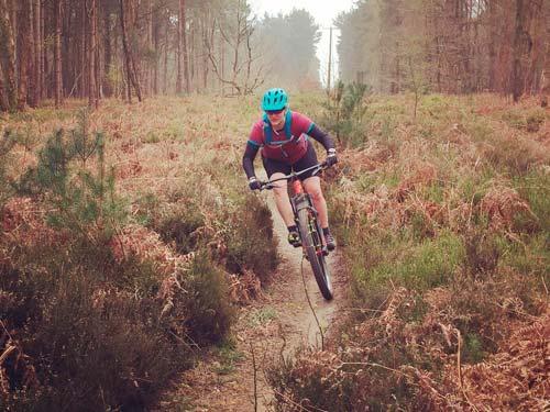 Intro to Mountain biking on the Surrey Hills