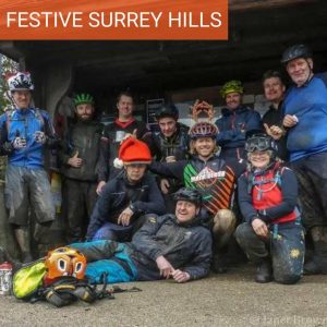 Surrey Hills Christmas MTB Ride Festive Singletrack Guided Ride