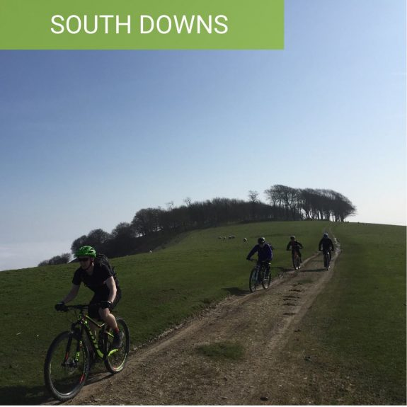South Downs Mountain bike ride guided rides near brighton