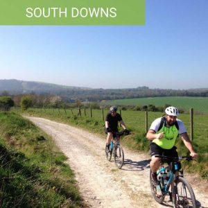 South Downs Mountain bike ride guided rides near brighton
