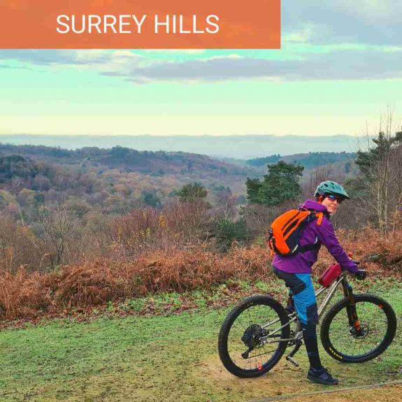 Surrey Hills MTB Events peaslake guided mtb rides on the Surrey Hills devil punch bowl hindhead mtb